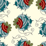 Berry Seamless vector pattern Stock Image