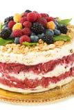 Berry Semifreddo - Italian dessert. Stock Images