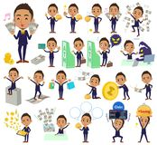 Berry Short hair businessman black_money Stock Photo
