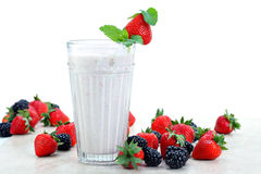 Berry Smoothie Royalty Free Stock Photos