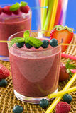 Berry smoothie Royalty Free Stock Image
