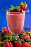 Berry smoothie Stock Photos