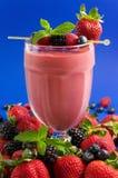 Berry smoothie Stock Photos