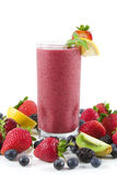 Berry smoothie Royalty Free Stock Photos