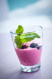 Berry smoothie Stock Photography