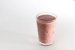 Berry Smoothie in een Glas Stock Foto