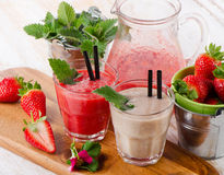 Berry smoothie Stock Images