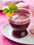 Berry smoothie  or juice Stock Image
