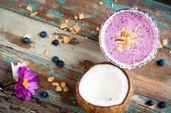 Berry smoothie milkshake Stock Images