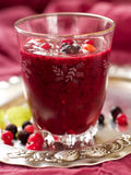 Berry smoothie Royalty Free Stock Images