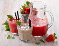 Berry smoothie Stock Image
