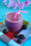Berry smoothies Stock Photos