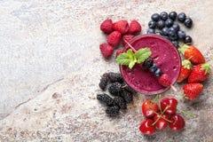 Berry Smoothies Stock Image
