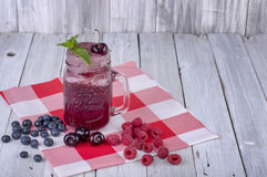 Berry Smoothy Fotografia Stock