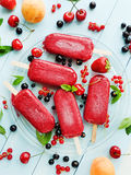 Berry sorbet Royalty Free Stock Images