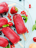 Berry sorbet Royalty Free Stock Image
