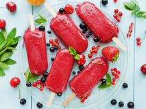 Berry sorbet Royalty Free Stock Photos