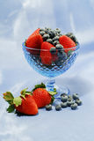 Berry still life royalty free stock photography