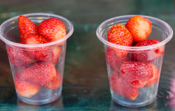 Berry strawberry in the market Royalty Free Stock Image