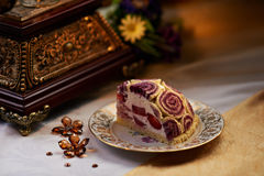Berry Strudel Stock Photography
