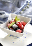 Berry sweet dessert Stock Photography
