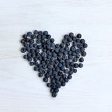 Berry sweet heart Stock Photography