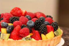 Berry tart Stock Photography