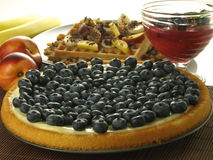 Berry tart Stock Images