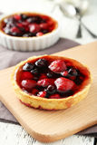 Berry tarts Royalty Free Stock Photography