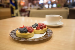Berry tasty tartlet Royalty Free Stock Photography