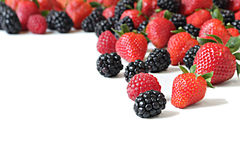 Berry variety Royalty Free Stock Photo