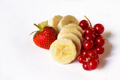 Berry on the white background Royalty Free Stock Photos