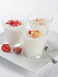 Berry Yogurt Fotografie Stock Libere da Diritti