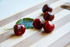 Berryes della ciliegia immagini stock