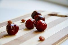 Berryes della ciliegia immagine stock