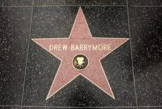 berrymore tecknade stjärnan Royaltyfri Bild