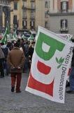 Bersani speech Royalty Free Stock Images