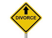 Überschrift für Scheidung Lizenzfreies Stockbild
