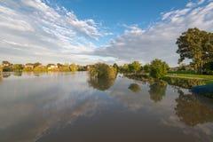 Überschwemmter See Lizenzfreie Stockfotos