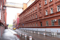 Bersenevsky lane. Corps confectionery factory Red October Stock Images