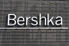 Bershka徽标 免版税库存照片