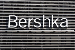 Bershka Logo. On A Grilled Background Royalty Free Stock Photo
