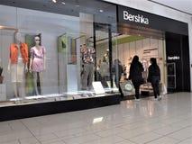 Bershka store in Rome stock images