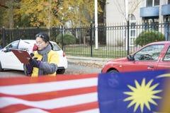 Bersih 5 0种抗议 库存图片