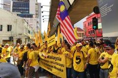 Bersih 5 Arkivbild