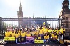 Bersih protest Fotografering för Bildbyråer