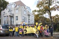 Bersih 5 0 protest Arkivbild