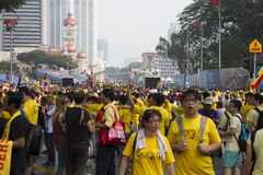 Bersih4 samlar dag 2, Malaysia Arkivfoton