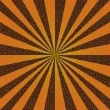 Bersten Sie auf einer Swirly Hintergrund-/vektordatei Stockfoto