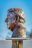 Bert Weeks Sculpture Profile Royalty Free Stock Photography
